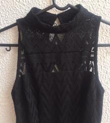 Črna dolga oblekica