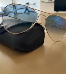 Sončna očala Ray Ban 3025 zlati okvir