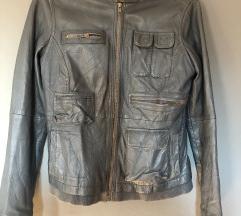 ZNIŽANO: usnjena jakna