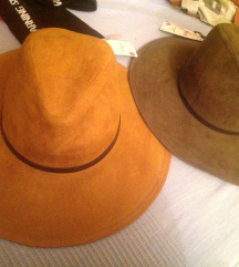Dva nova kavboj stil klobuka