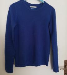 Modra jopica/pulover z dolgimi rokavi
