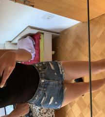 Jeans kratke hlace