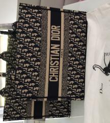 Small Dior Oblique Embroidery