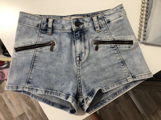 Kratke jeans hlače Bershka / 34