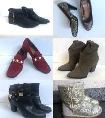 Čevlji od 8 eur do 20 eur (škornji, petke ...)