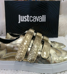 JUST CAVALLI, SUPERGE, USNJE, ORIG.