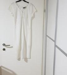 Poletna lanena obleka