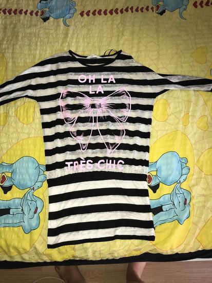 črtasta majica