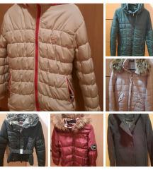 Zimske jakne, plašči