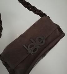 Islo usnjena semiš torbica