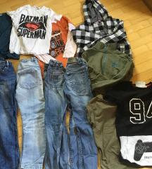 Fantovska oblačila 7-8 let