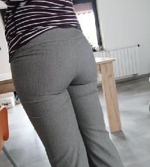 Elegantne široke hlače na rob