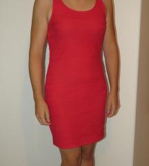 Obleka s čipko Ann Christine | L | roza