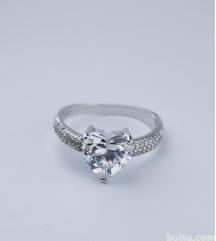 Srebrni prstan z žigom 925-NOV