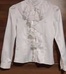 Ženska bela srajca bluza