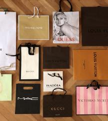 Designerske vrečke in škatle