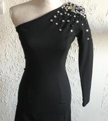 Maturantska Crna obleka po narocilu S