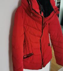Zara rdeča bunda