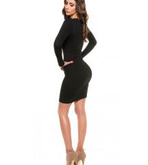 Črna elegantna obleka NOVA!