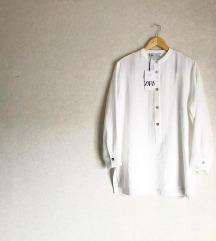 Zara bela bluza