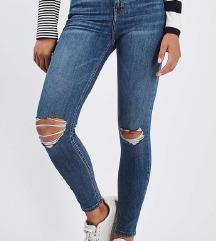 AKCIJA!!! 25€ topshop jamie jeans kavbojke nove