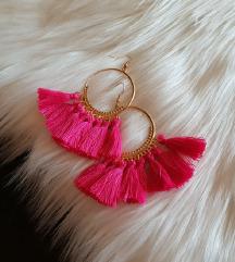 Novi roza viseči uhani ❤️