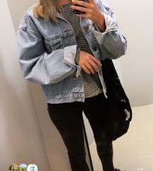 Oversize jeans jakna