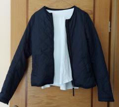 Kratka prehodna jakna, jaknica navy blue barve