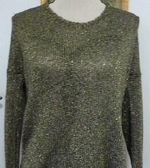 pulover zlate barve