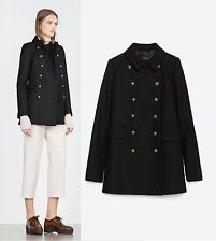 Dark blue ZARA coat