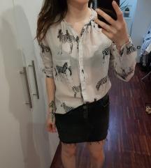 Bluza / srajčka iz Zare (svila & bombaž)