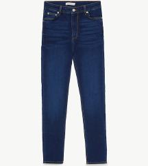 Nove Zara jeans hlače z visokim pasom