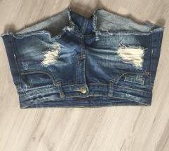 Jeans kratke hlače H&M 38