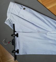 elegantne črtaste hlače