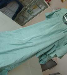 LIPO oblekca tunika viskoza metal green