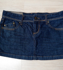 Jeans mini krilo Stradivarius
