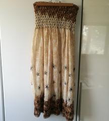 čudovita izvezena poletna oblekica