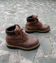 št. 39 WOOD Alpi-Tex pravo usnje pohodni čevlji