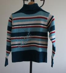 volnen pulover za punčko