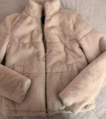 ZARA faux fur jakna