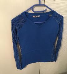 2x modra majca