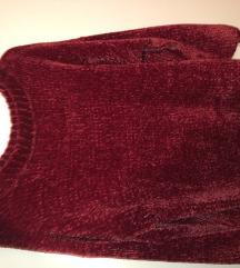 Bordo pulover