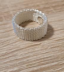 Srebrni prstan (pravo srebro, žig 925)vel.59