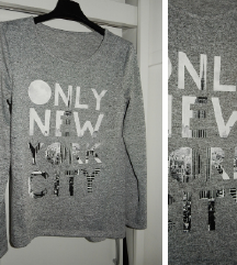 PULOVER ■tanek ■Only New York City ■S+M