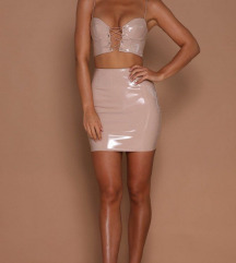 Two piece latex set