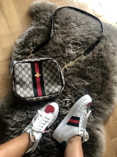 Gucci cevlji+torbica