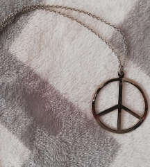 Peace verižica