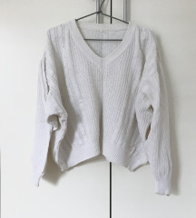 Vintage oversized pulover