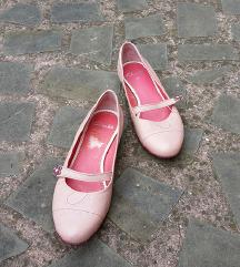 CLARKS št. 38 1/2 pravo usnje čevlji (UK)