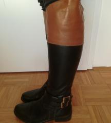 Škornji Relance usnjeni